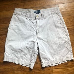MENS POLO KHAKI SHORTS